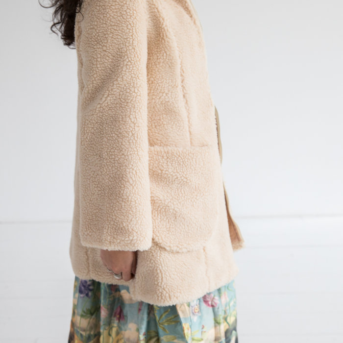 Samantha Pleet Willow Coat Faux Shearling