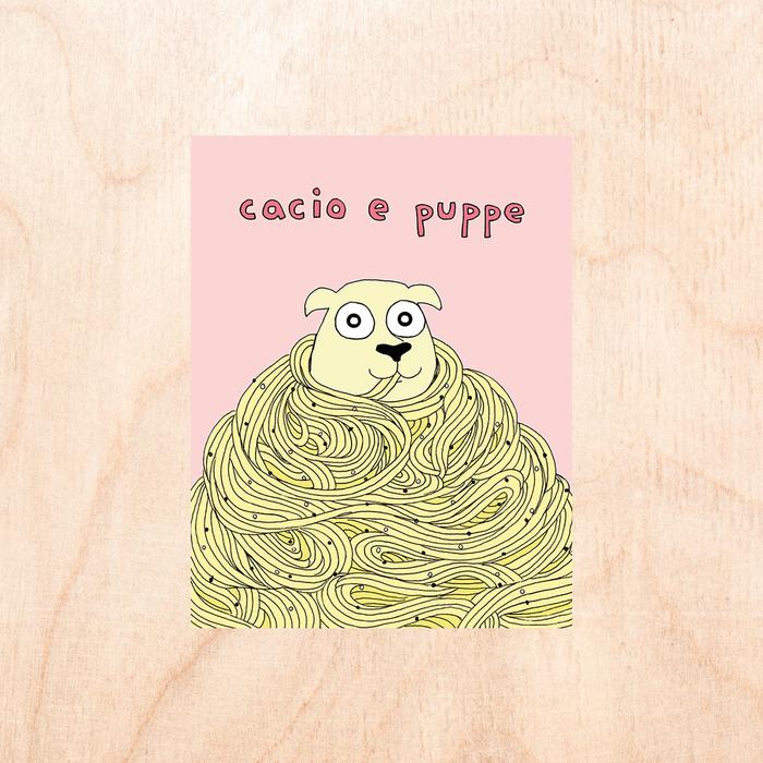 Fine Ass Lines - Cacio e puppe Card