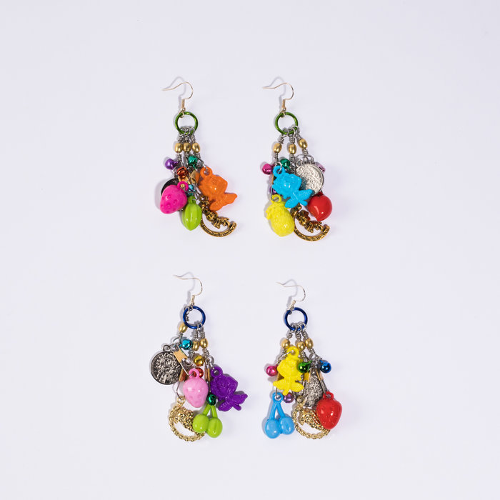 KSTP Multi Charm Earrings