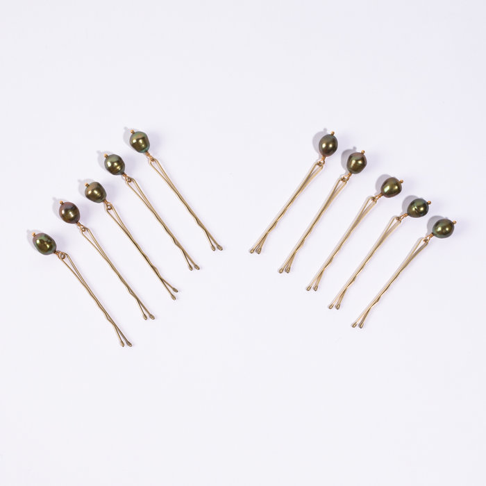 Plutonia Blue Pearl Pins - Blue