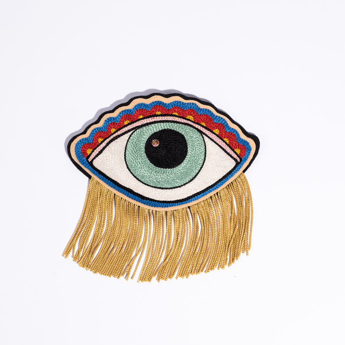 CJ Chainstitch Eye Patch - Yellow