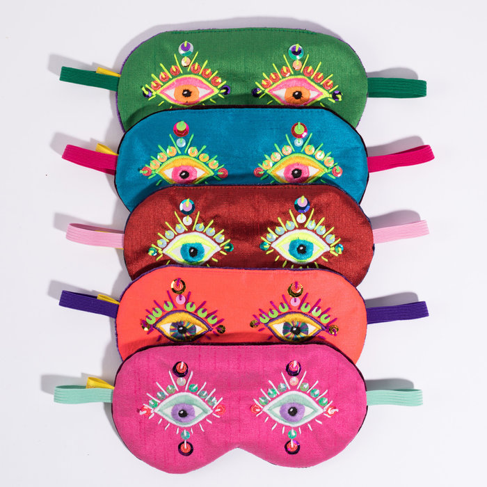 Maria Sandhammer Sequin Sleep Masks
