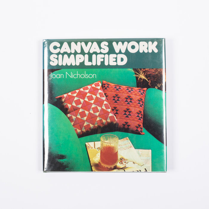 The Librarian- Canvas Work Simplified 1973
