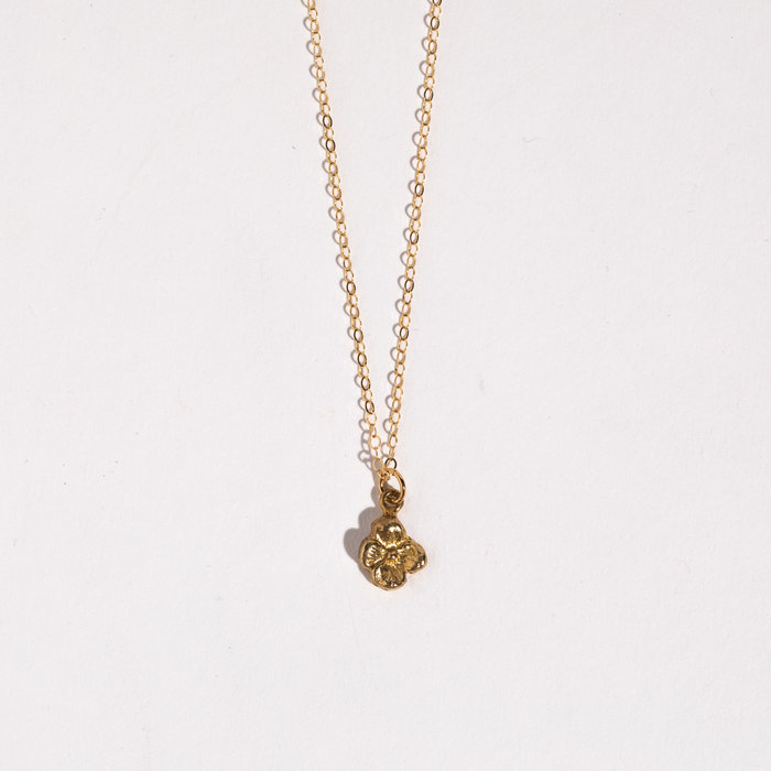 Saint Claude x Freda Petit Primrose Necklace - Brass