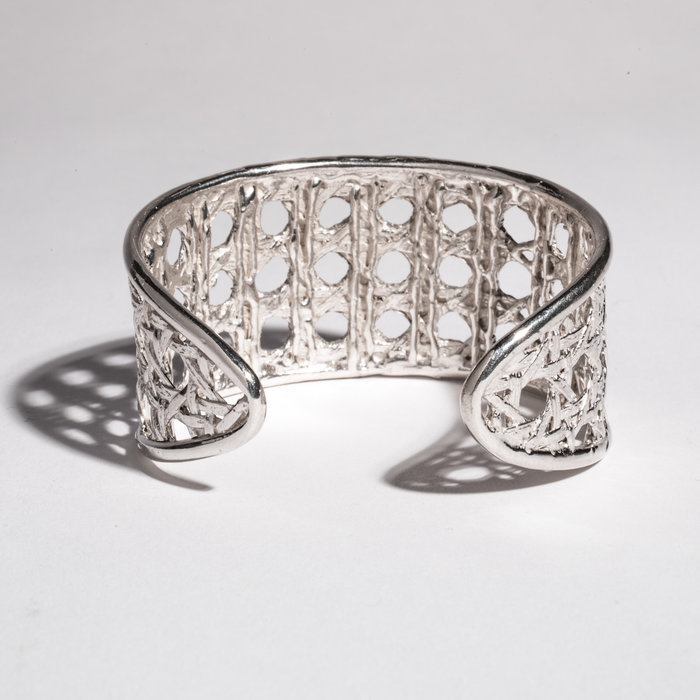 Saint Claude x Freda Small Caning Cuff - Sterling