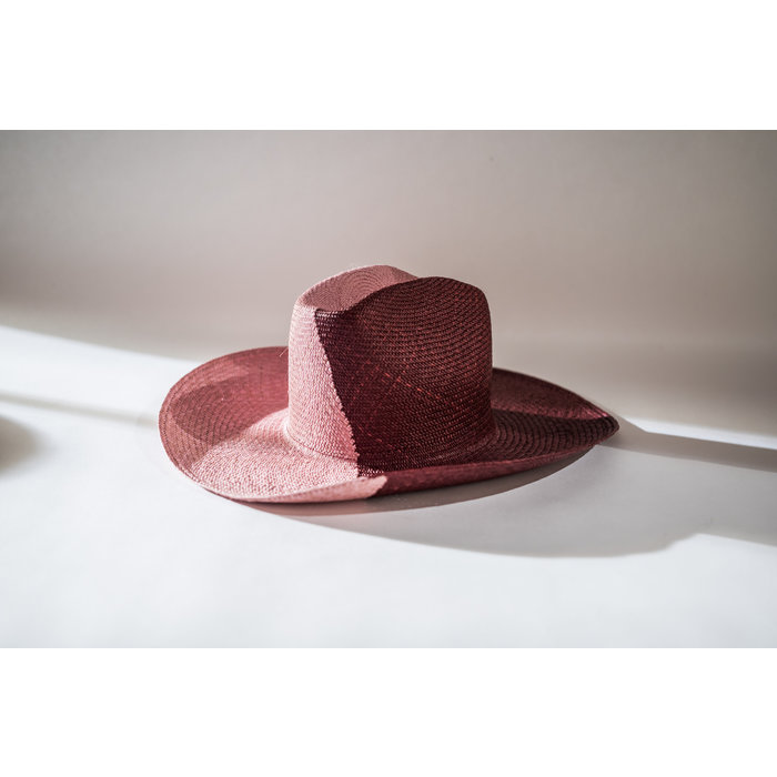 Clyde Western Hat - Lavender/Concord