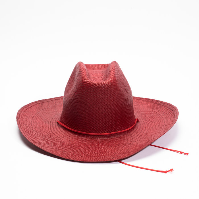Clyde Western Hat - English Red