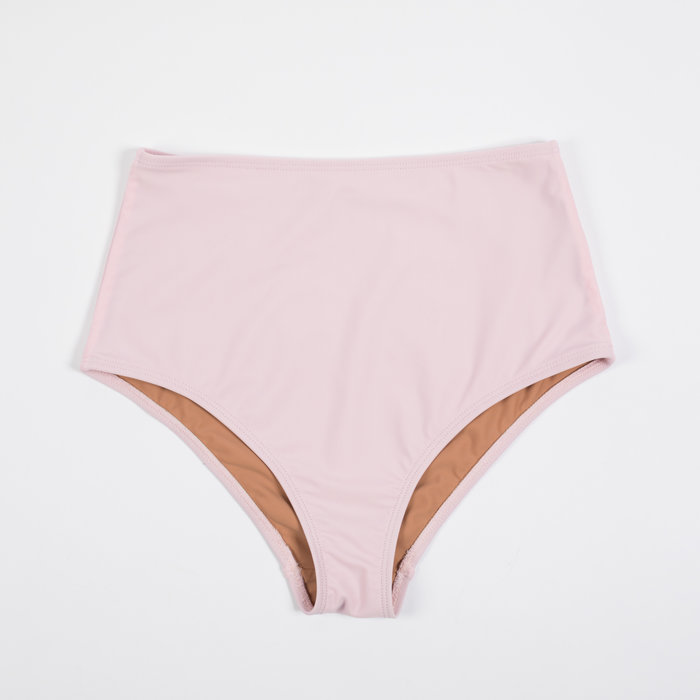 Nu Swim Pink Basic High Bottom