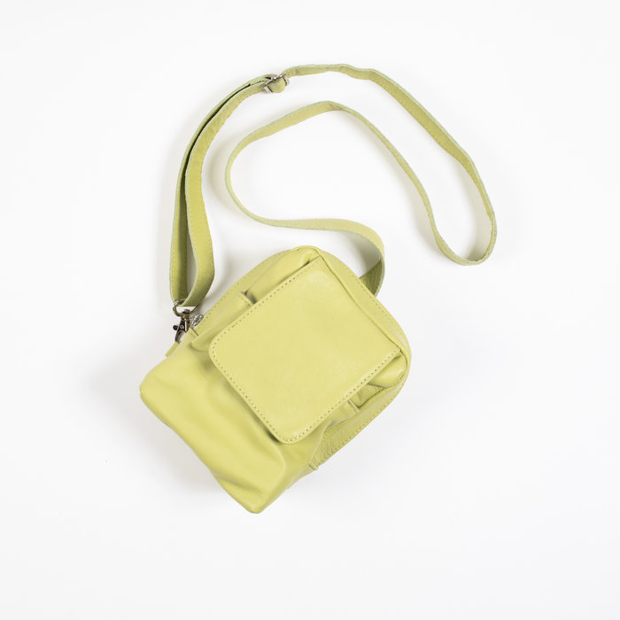 Clyde Pistachio Green Chest Pouch