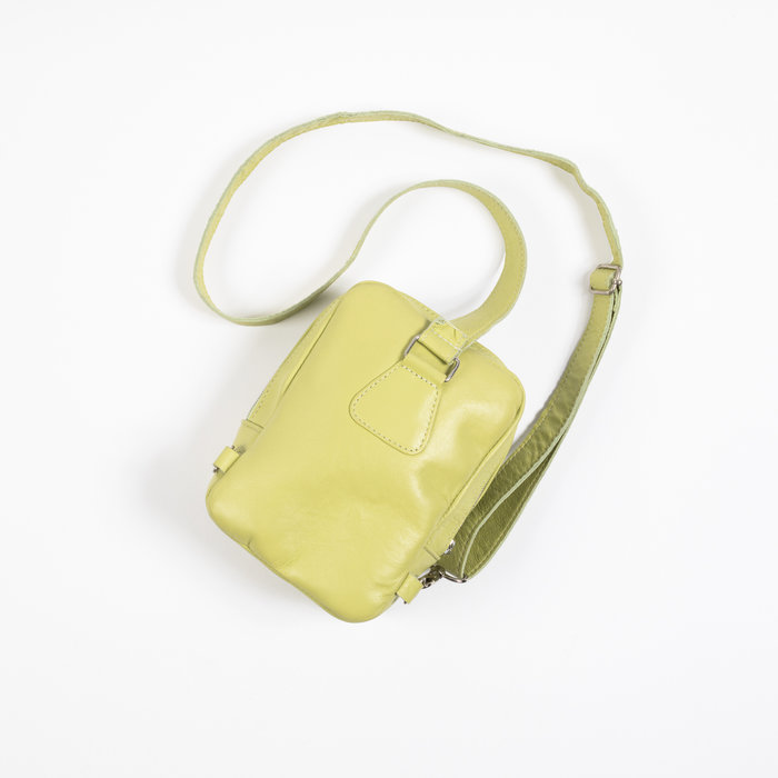 Clyde Chest Pouch in Pistachio