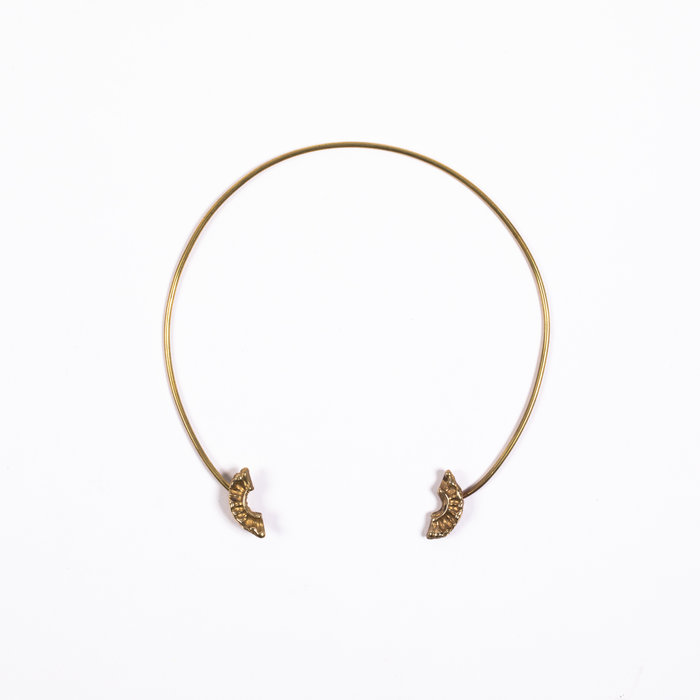 Saint Claude Demi Lune Open Collar Necklace