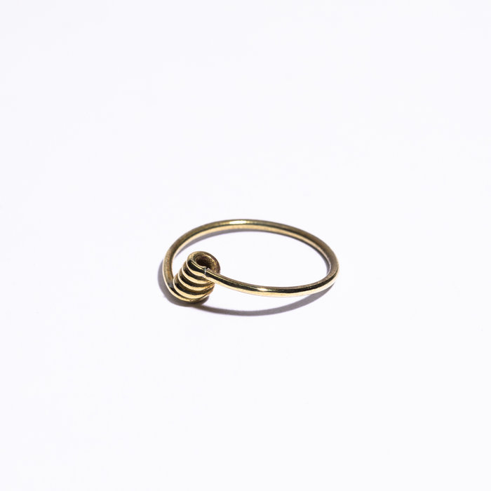 Aesa Simple Coil Ring