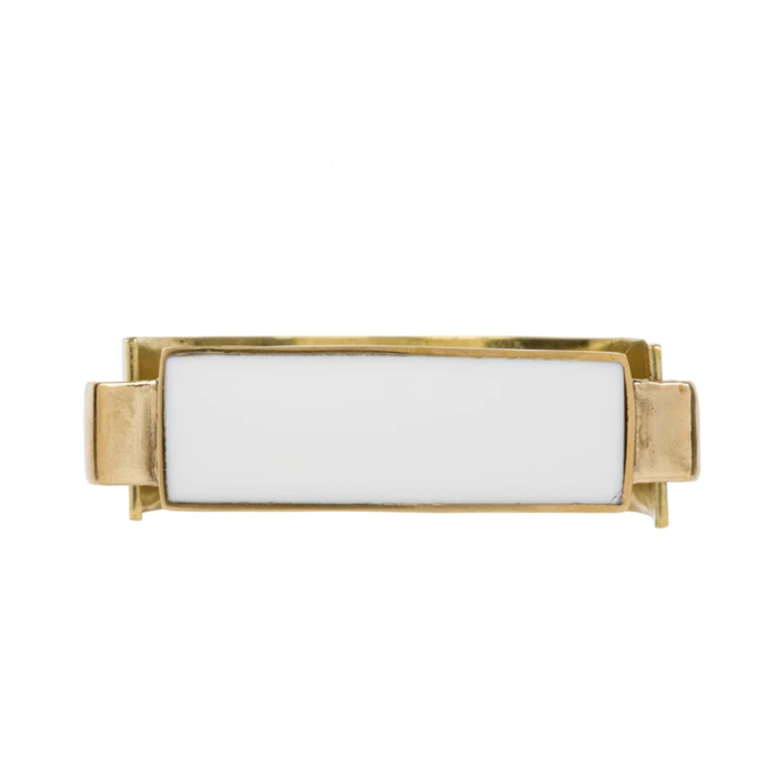 Aesa Little Reeve Cuff - White Onyx