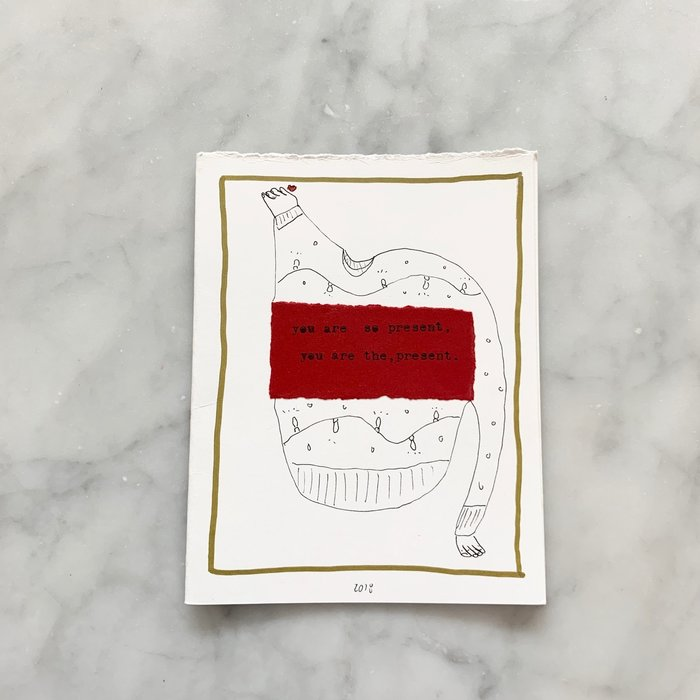 Cubs the Poet Hand Drawn Cards
