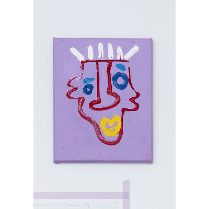 Abstract portrait. This one gives the illusion of multiple faces. Ears becoming lips and eye brows becoming eyes. Enjoy following your mind as it identifies the feelings each face may inspire.
