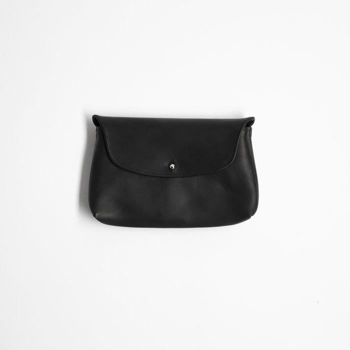 Orsyn Kaanapali Purse - Black Oil Tan/Silver Hardware