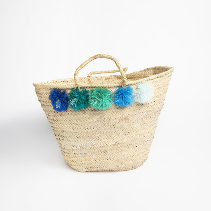 Eliza Gran Topanga Basket - Green Multi