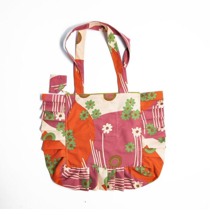 Miss KK Ruffle Bag - Pink