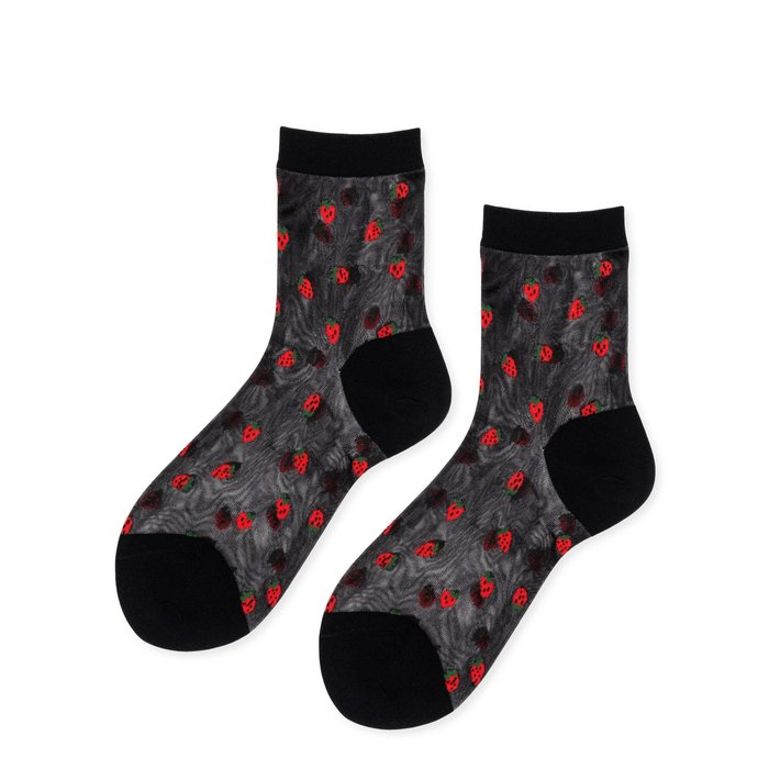 HFB Strawberry Crew Socks