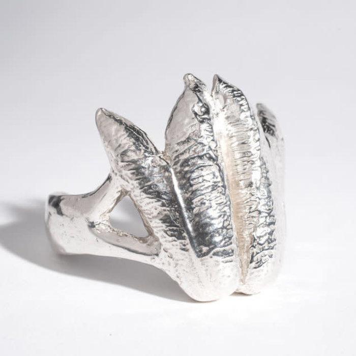 Saint Claude x Freda Yucca Cuff - Silver