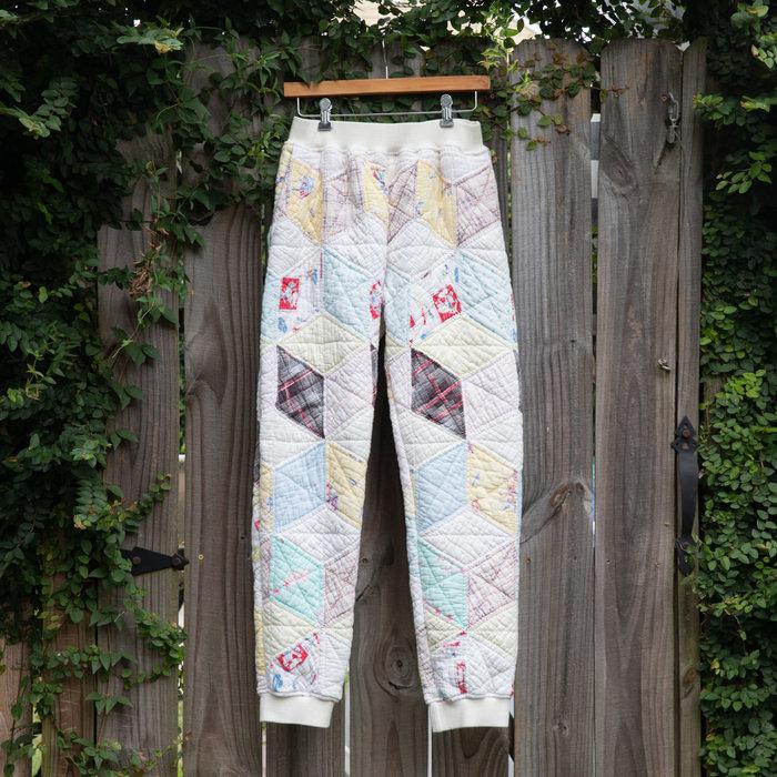 Carleen Vintage Quilt Sweatpants