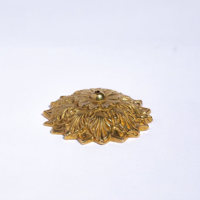 Saint Claude Domed Flower Incense Holder