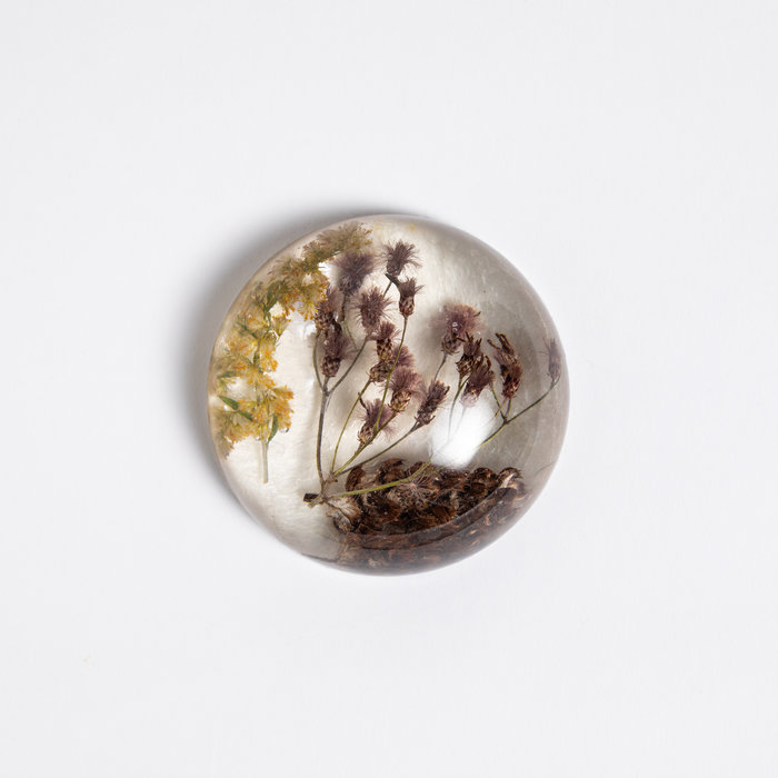 Freda Made Paperweight - Multi/White