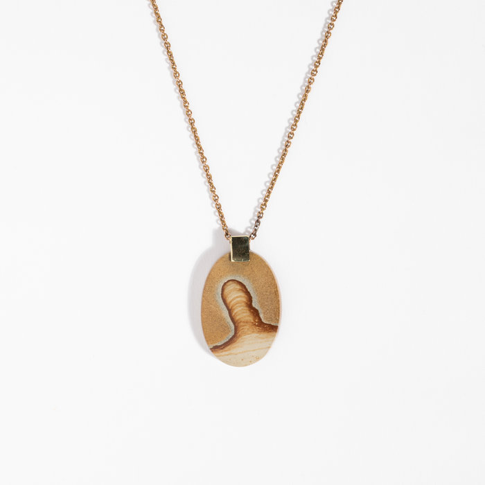 Aesa x Freda Agate Necklace #1