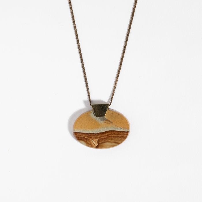 Aesa x Freda Agate Necklace #2