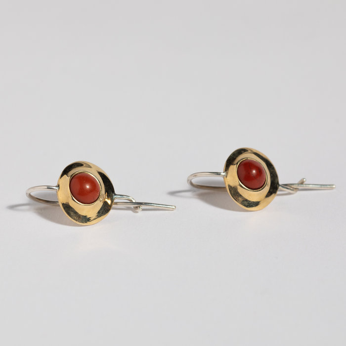 Quarry Alena Earring - Red Jasper