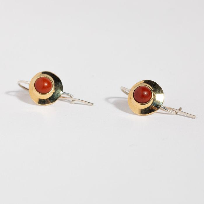 Quarry Alena Earring - Red Jasper