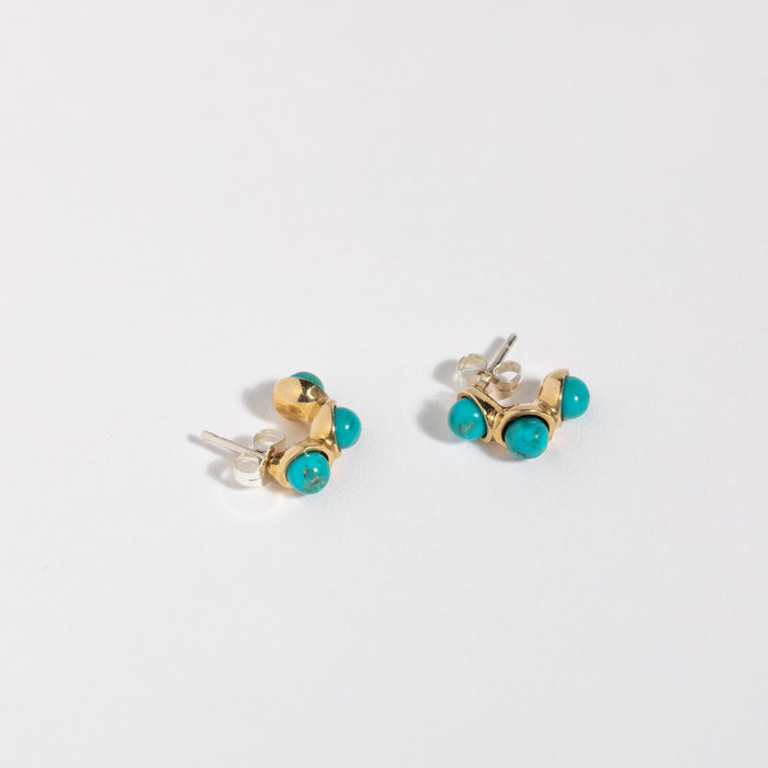 Quarry Syan Earrings - Turquoise