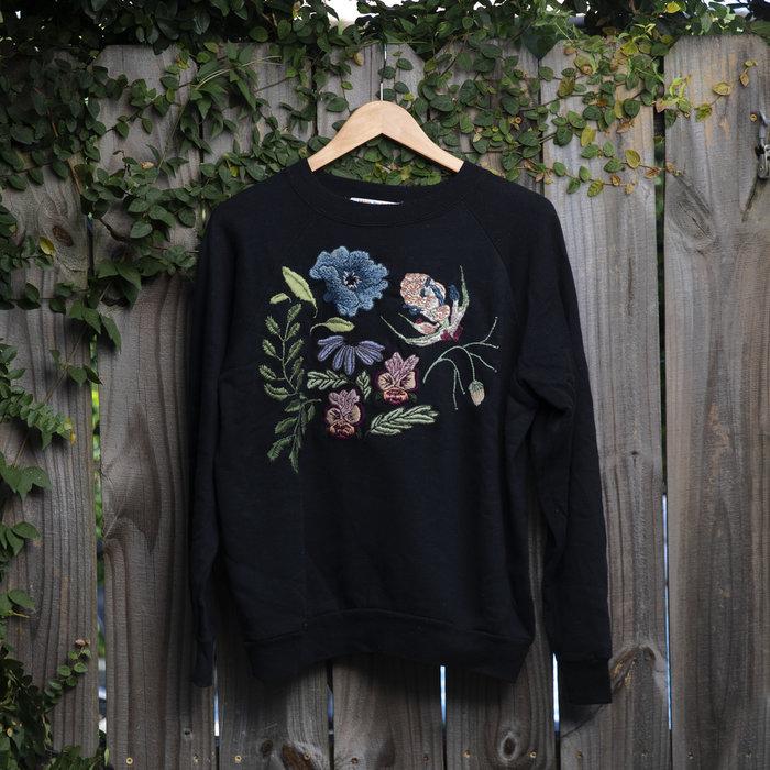 Rebecca McGivney Sweatshirt - Flowers
