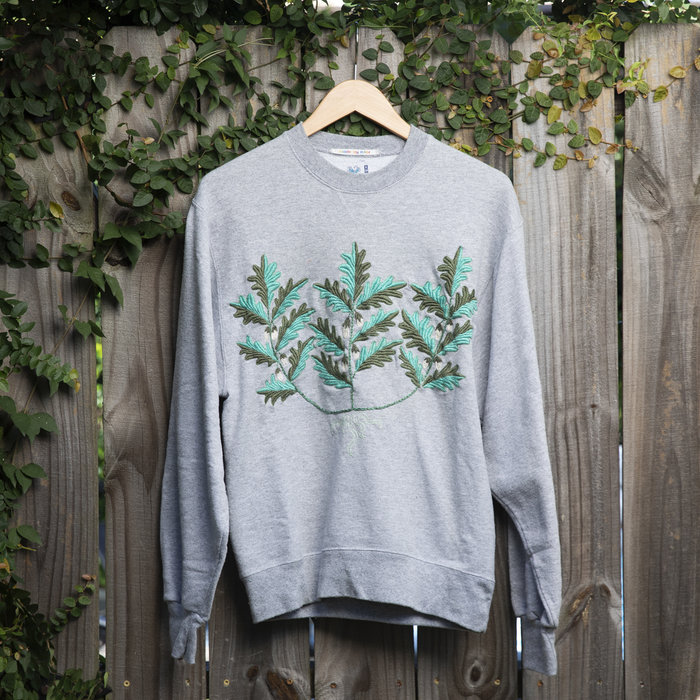 Rebecca McGivney Sweatshirt - Leaves