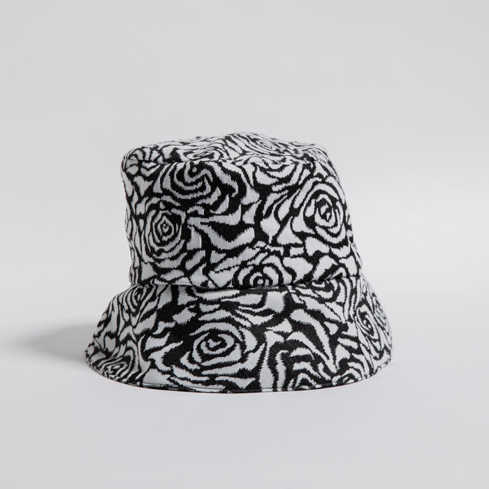 Rightful Owner Black & White Bucket Hat