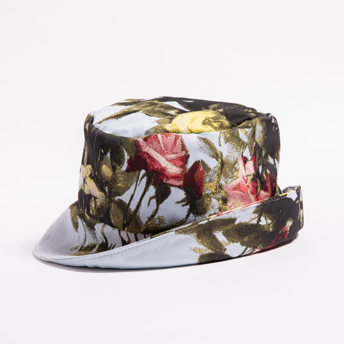 Rightful Owner Blue Roses Bucket Hat