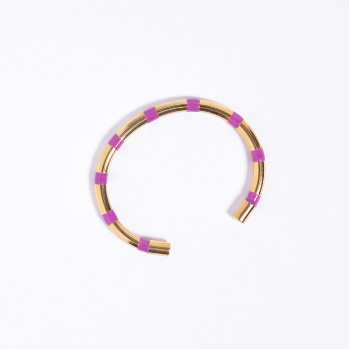 A. Carnevale Striped Cuff