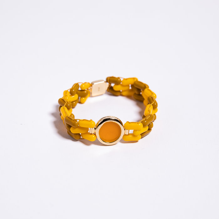 A. Carnevale Glass Bead Bracelet