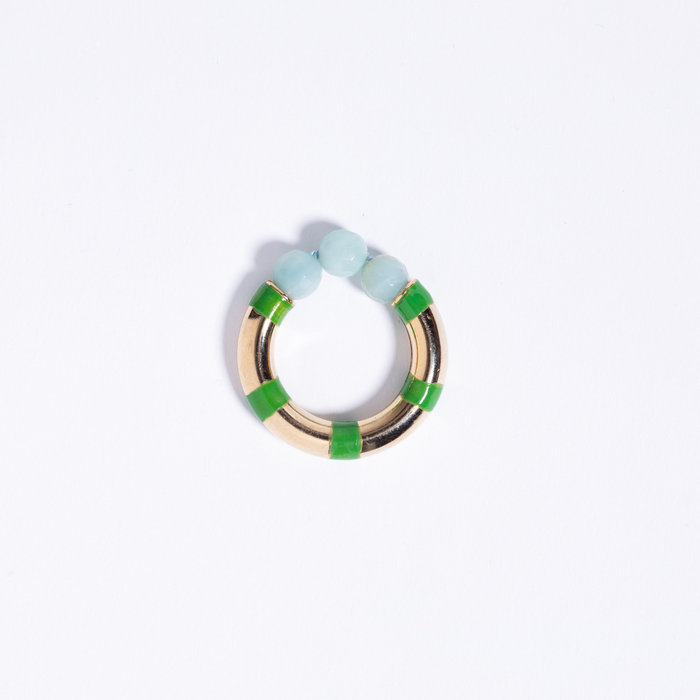 A. Carnevale Striped Ring
