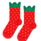 HFB Mini Strawberry Crew Sock