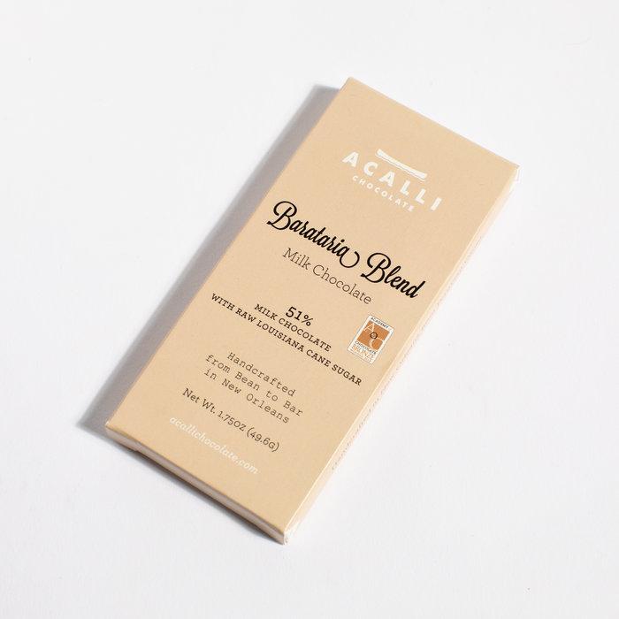 Acalli Chocolate Bar - Barataria Blend