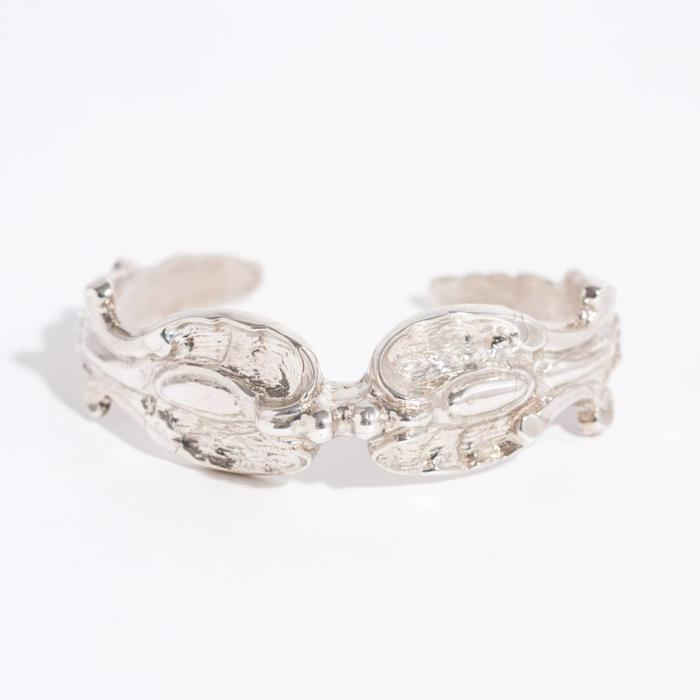 Saint Claude King Cobra Cuff - Sterling Silver