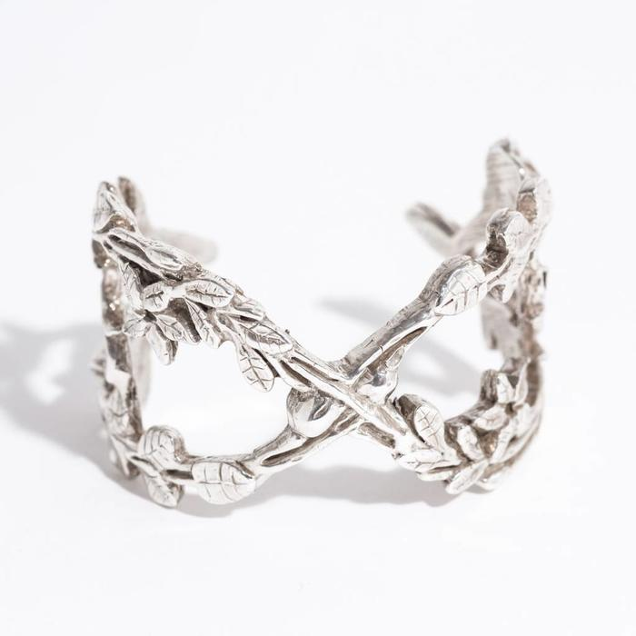 Saint Claude Secret Garden Cuff - Sterling Silver