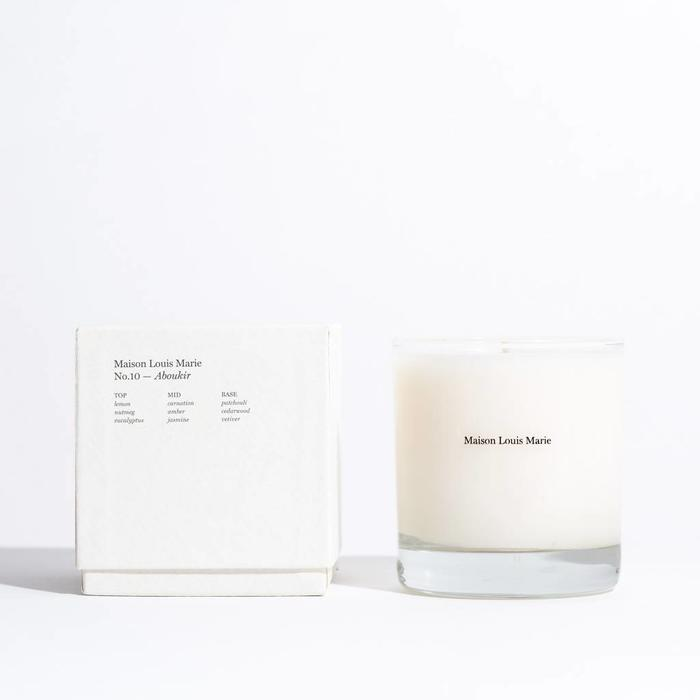 Maison Louis Marie Candles-  No. 10 Aboukir