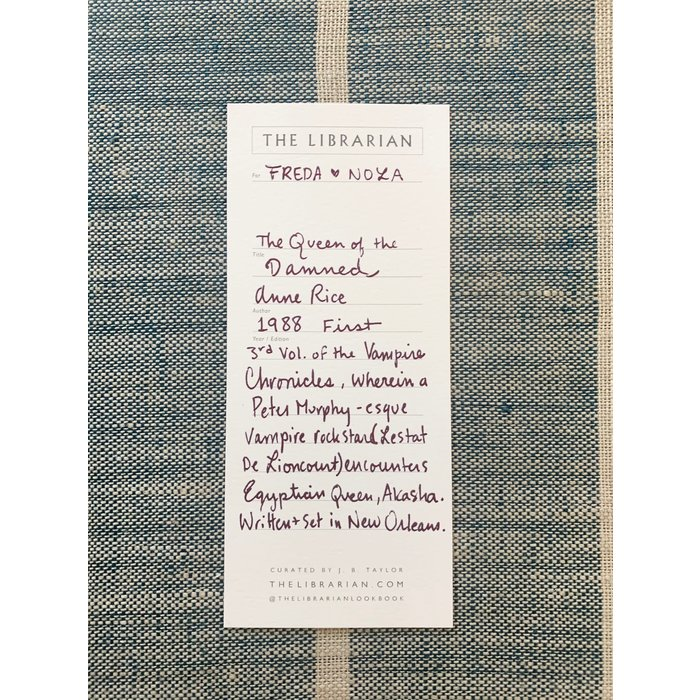 The Librarian - The Queen of the Damned