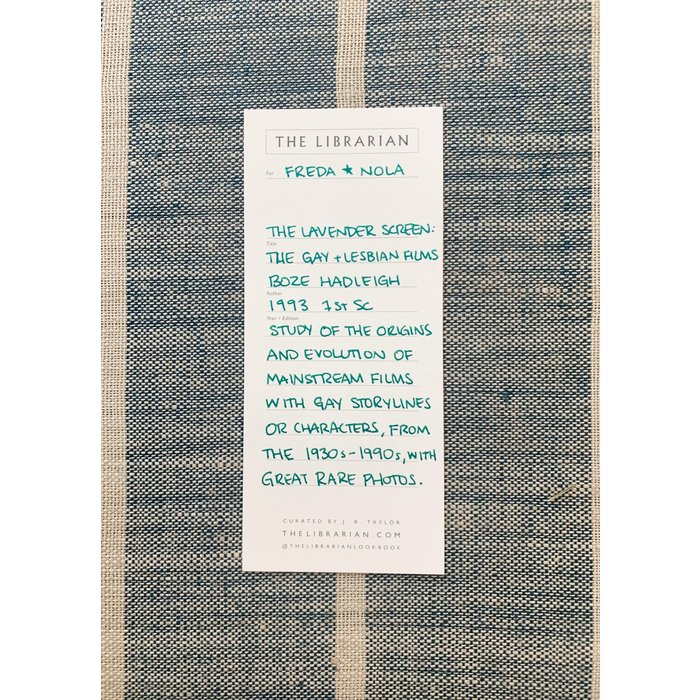 The Librarian - The Lavender Screen