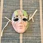 Small Vintage Mardi Gras Ceramic Masks