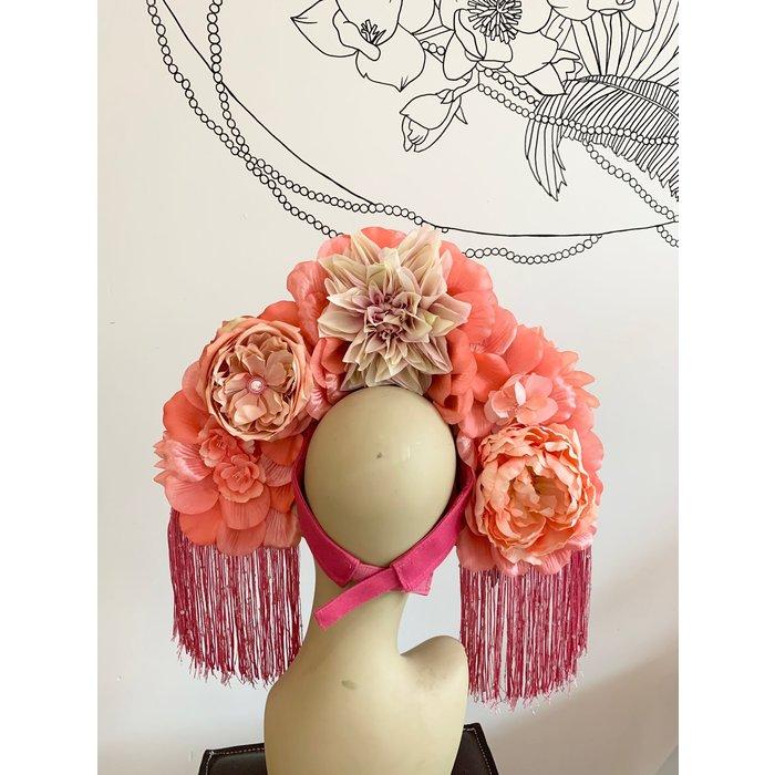 Kate McNee Headdress - Pink
