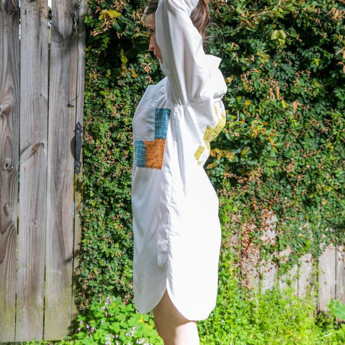 Carleen Patchwork Roadtrip Shirtdress