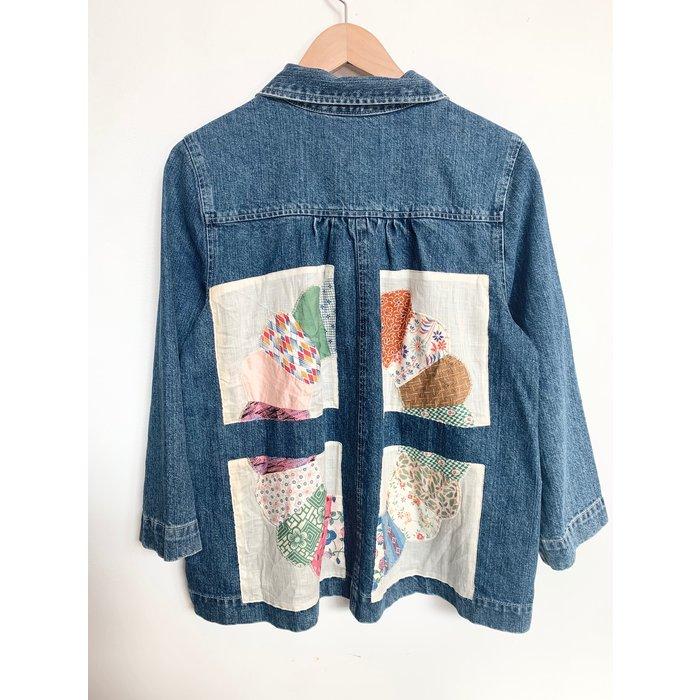 Carleen Patchwork Loren Pocket Jacket